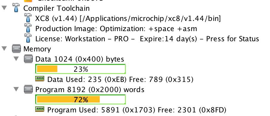 Comparing compilers: CCS C and Microchip XC8 – CatTrack
